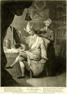 The old beau in an extasy © The Trustees of the British Museum