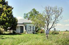 Old house, Baker Road, Manawaru, Waikato, New Zealand