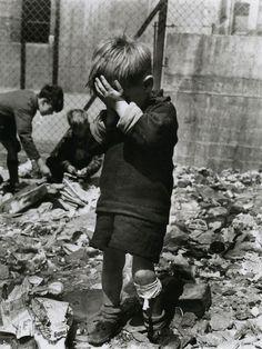 Roger Mayne: Bomb Site, Waverly Park, Paddington, 1957