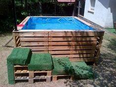 Die 68 besten Bilder auf Pool selbst bauen | Home, Garden, Pools und ...