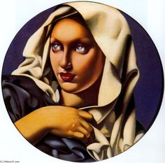 For just a little more than a print you can have a hand made reproduction of a painting of Tamara De Lempicka. Description from en.wahooart.com. I searched for this on bing.com/images