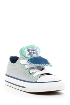 Converse Double Tongue Oxford Sneaker (Baby & Toddler)