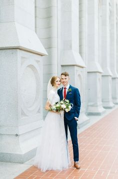 Kenzie Victory / Utah Fine Art Wedding Photographer / SLC Temple / Garden Park Ward