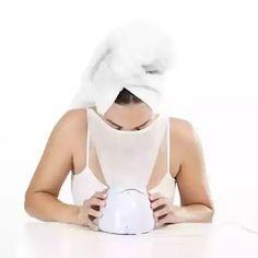 طريقة عمل بخار للوجه بالجهاز How To Treat Acne, Facial, Easy, Facial Care, Face Care