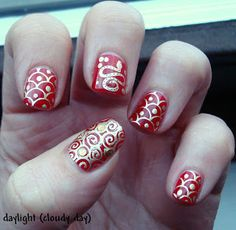 I Am Showcasing Amazing Chinese New Year Nail Art Designs And Ideas Of Give A Royal Treatment To Your Nails
