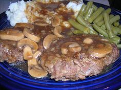 Weight Watchers Salisbury Steak
