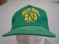 san francisco 70971 62a86 NCAA NOTRE DAME FIGHTING IRISH FOOTBALL SNAPBACK KELLY GREEN BALL CAP SEWN  ND  NotreDameFightingIrish