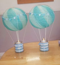 Trendy Baby Shower Ides For Boys Airplanes Air Balloon Baby Shower Garland, Diy Baby Shower Decorations, Baby Shower Signs, Baby Shower Balloons, Baby Shower Centerpieces, Baby Boy Shower, Juegos Baby Shower Niño, Baby Ballon, Hot Air Balloon Centerpieces