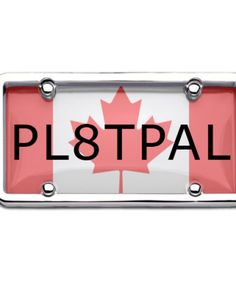 Feel Proud to Be a Canadian and Use Canadian License Plate Cover Frame for Your Automobiles