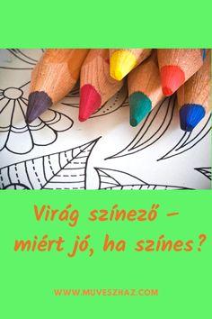 Kreatív feladatok gyerekeknek - Virág színező, nem is gondolnád mi mindenre jó