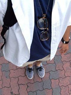 ゆうきさんの(VANS|バンズ)を使ったコーディネート Leopard Vans, Gucci, Coat, Jackets, How To Wear, Shoes, Fashion, Down Jackets, Moda