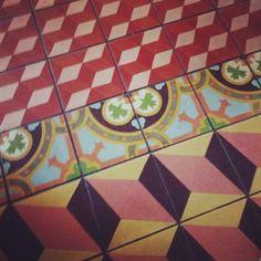 cement tile patterns. san antonio, texas