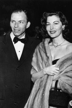 A look back at Frank Sinatra's 25 most famous rumored and real celebrity relationships: Ava Gardner