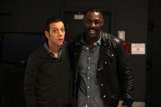 with Idris Elba...