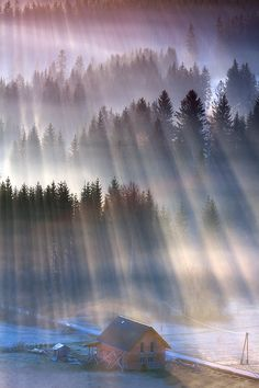 Sun Rays, Poland, by Marcin Sobas, on 500px.