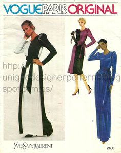 BCN - UNIQUE patterns designer: Yves Saint Laurent