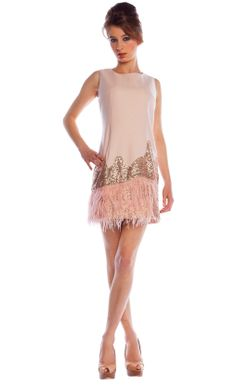 Light pink Sequin Dress  Robe cocktail Dress &amp Hightems ...