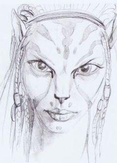 Avatar-2009-Concept art James Cameron