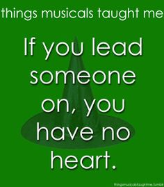 If You Lead Someone On, You Have No Heart.