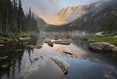 Located in Colorado, the Rocky Mountain National Park encompasses 415 miles of pure wilderness.