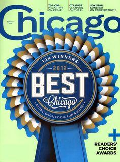 Chicago Magazine Cover for 8/1/2012