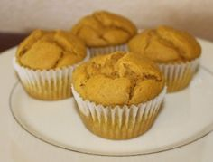 Pumpkin Muffins recipe - made these today and they are really good. Also have only 1/2 cup of sugar which is nice.