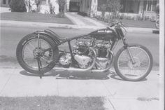 The legendary twin-engined Dubble Trubble Triumph motorcycle