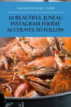 Fish Feed, Juneau Alaska, Crab Shack, Gourmet Popcorn, Fish Tacos, Custom Cookies, Foodie Travel, Food Truck, Instagram Feed
