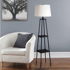 Cresswell Lighting 19305-000 3-Way Switch Floor Lamp