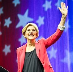 Americans are fighters. We are tough, resourceful, and creative. If we have the chance to fight on a level playing field — where everyone pays a fair share and everyone has a real shot — then no one can stop us.  Elizabeth Warren (D) Massachusetts