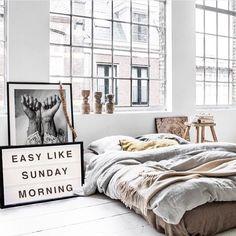 Easy like Sunday morning. Love. Pic via @destination.haus #interiordesign