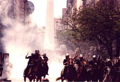 July 30, 2001: Facing demands by foreign investors in the middle of a recession, the government of Argentina's proposed austerity bill is passed, which includes slashing state salaries and some pension by up to 13%. The economic crisis continued to deteriorate for months and by December major unions called for a general strike.