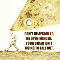 Open Minds...