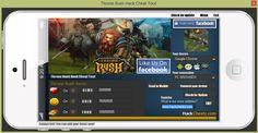 Throne Rush hack cheat - gold, gems, food