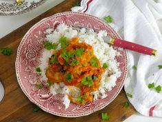Igorin kana, alkuperäinen resepti — Peggyn pieni punainen keittio Food Pictures, Risotto, Mashed Potatoes, Chicken Recipes, Baking, Breakfast, Ethnic Recipes, Easy, Bakken