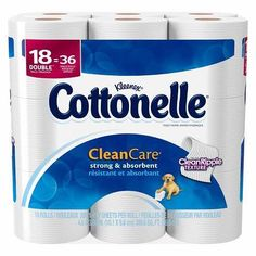HOT! Cottonelle Mega Bath Tissue Only $0.64/Roll At Target After Cartwheel Offer And Printable Coupon!