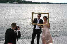 Bröllop - Tips: Låt bröllopsfotografen fota bröllopsgästerna med en ram för snygg effekt. Wedding photography