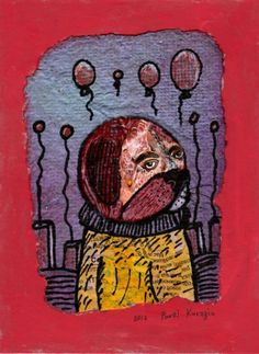 Buy Dog and balloons, Collage by Pavel Kuragin on Artfinder. Discover thousands of other original paintings, prints, sculptures and photography from independent artists.