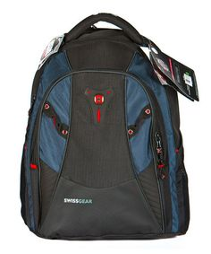 Take a look at this Blue & Black Computer Backpack by Swiss Gear on #zulily today!