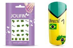 Jolifin WM 2014 Tattoo Brazil zur WM in Brasilien