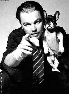 Leonardo DiCaprio and friend.