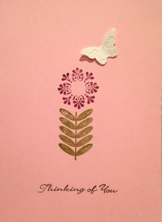 A sympathy card