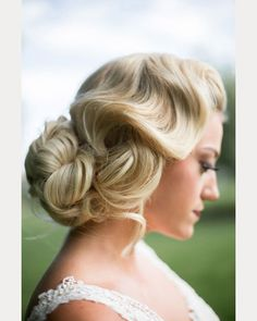 One Wedding ~ Two Incredible Hairstyles For the Bride ~  we ❤ this! moncheribridals.com #curledweddingupdo