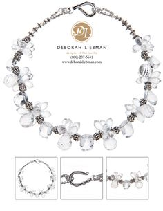 Crystal Quartz and Sterling Silver (17 inch length)