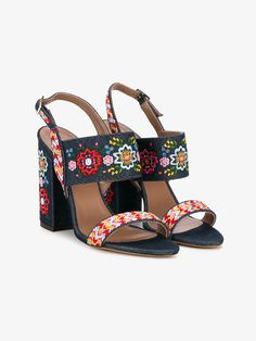 Senna Festival embroidered sandals By Tabitha Simmons | Sandals | Browns Fashion