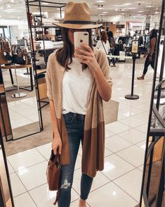 nordstrom anniversary sale hat, #nsale #nordstrom anniversary sale 2018, anniversary sale picks, nordstrom anniversary 2018, women's outfit ideas. nordstrom women, wrap cardigan, classic style, outfit ideas for fall, camel wrap cardigan, straw fedora, white tee and camel sweater, fall style, fall outfits, top finds from the anniversary sale, outfit ideas, #fallfashion #fall #falloutfits