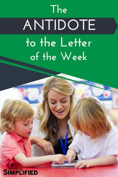 Discover how 1 simple activity will solve all of your Letter of the Week woes! Get a free word list perfect for beginning Kinders& first week of school! Teaching Phonics, Phonics Activities, Teaching Strategies, Teaching Reading, Teaching Kids, Learning The Alphabet, Fun Learning, Elementary Teacher, Elementary Schools