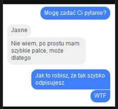 WTF Funny Sms, Funny Text Messages, Wtf Funny, Funny Cute, Funny Texts, Polish Memes, Best Memes, Funny Photos, Jokes