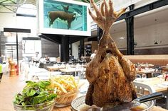 Tramshed: Mark Hix's new joint is restaurant of the week - Food & Drink - Life & Style - Evening Standard. Another to try in 2013 Damien Hirst, London Calling, Mark Hix, Chicken Shed, London Eats, Best Protein, London Restaurants, Good Enough To Eat, Skewers