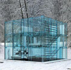 Glass House by Santambrogiomiliano
